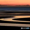 黄昏の真玉海岸