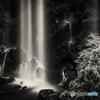 福貴野の滝 モノクロ#2