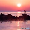 奈多海岸の夜明け(3)