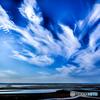 雲舞う真玉海岸