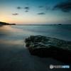 角島海岸の夕景 #3