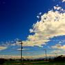 思い出の夏の空
