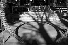 茅の輪と地の和