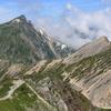 杓子岳と白馬岳