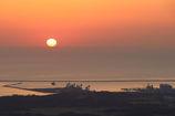 相馬港の日の出