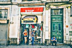 観光客 STOPed in リスボン