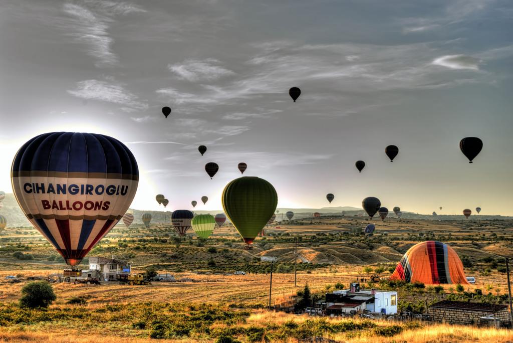 カッパドキア 気球の降りた地で