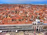 ヴェネチア 鐘楼よりの展望