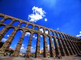 世界遺産 スペイン セゴビアの水道橋
