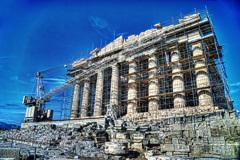 女神アテナ祀る パルテノン神殿