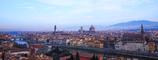 花の都 フロレンス ミケランジェロ広場より望む