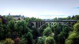 アドルフ橋の眺望 - ルクセンブルグより