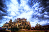 竜雲とサン=テチエンヌ大聖堂 -仏蘭西 - ブルージュ