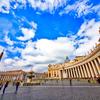 バチカン市国 サン・ピエトロ広場 展望