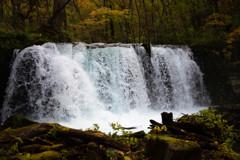 銚子大滝の飛沫