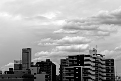 ハルカスと雲
