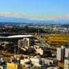 スタジアム・新横浜公園を望む