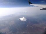 飛行機からの富士山#1