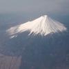 飛行機からの富士山#2