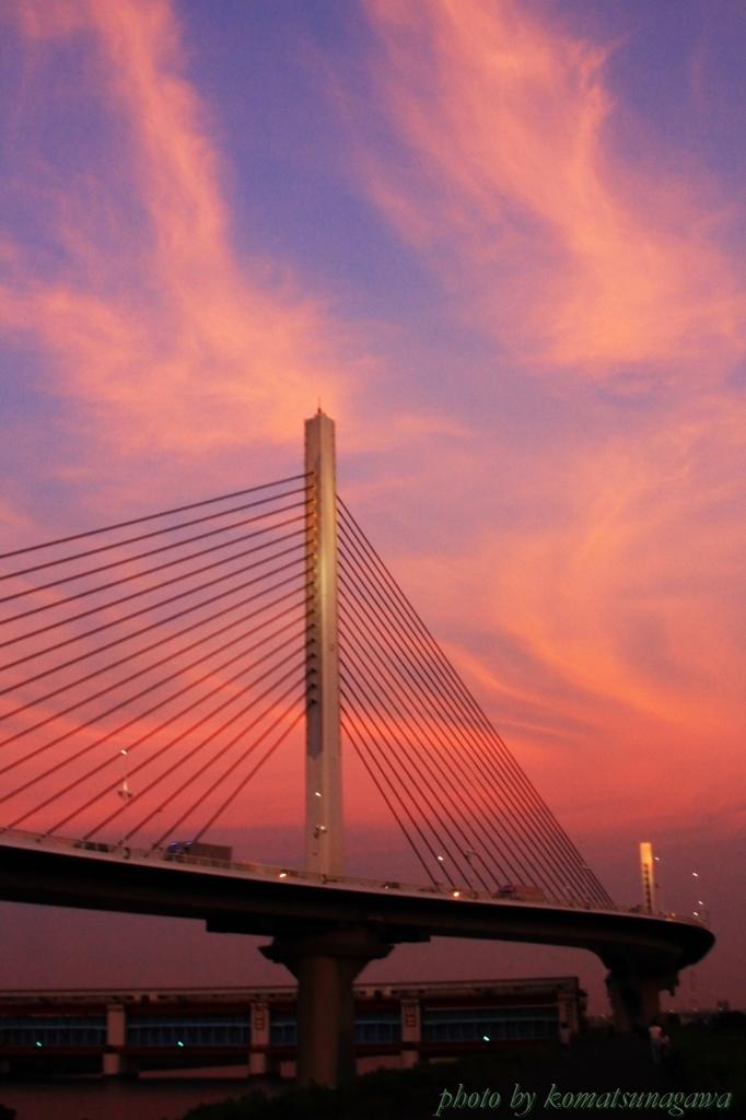 『第38回隅田川花火大会』が始まるまで・・・#8 葛飾ハープ橋