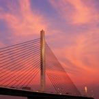 CANON Canon EOS 60Dで撮影した(『第38回隅田川花火大会』が始まるまで・・・#8 葛飾ハープ橋)の写真(画像)