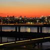 船堀で見た富士山夕景 #8