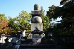 秀吉の眠る墓
