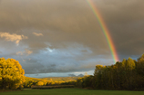 落日前の虹