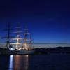 海王丸の夜明け