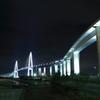 新湊大橋は富山マラソン20km地点
