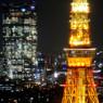 六本木ヒルズと東京タワー