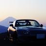 富士山とS2000と夕日@本日のNo.1