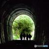 眩い未来 ~廃線跡 トンネルの出口~