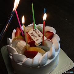 カミさんの誕生日 ?5歳