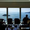 海の見えるcafe