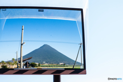 薩摩富士(開聞岳)絶景