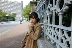 秋の神戸元町ポートレート