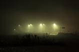 霧に浮かぶ橋