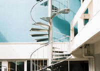 CONTAX G1で撮影した(螺旋階段)の写真(画像)