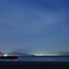 富士山見ながら夜釣り