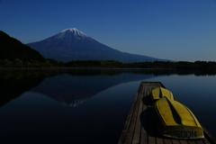 真夜中の富士