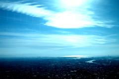高い処からの風景