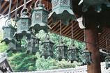二月堂の吊灯籠