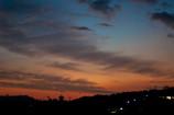 斑鳩の里の夕暮れ⑤