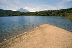 富士五湖巡り【西湖から見る富士】20180818