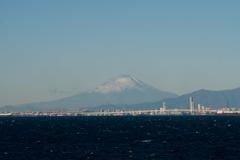 海ほたる【富士山の眺め】20171217