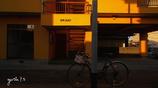写真句:アパートの夕日影 :投稿1800枚目