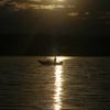 カユガ湖の朝