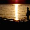 カユガ湖の朝2015:少年