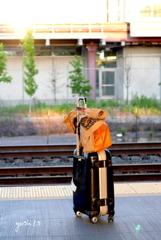 写真エッセイ:NY 2018: Amtrakを待つ